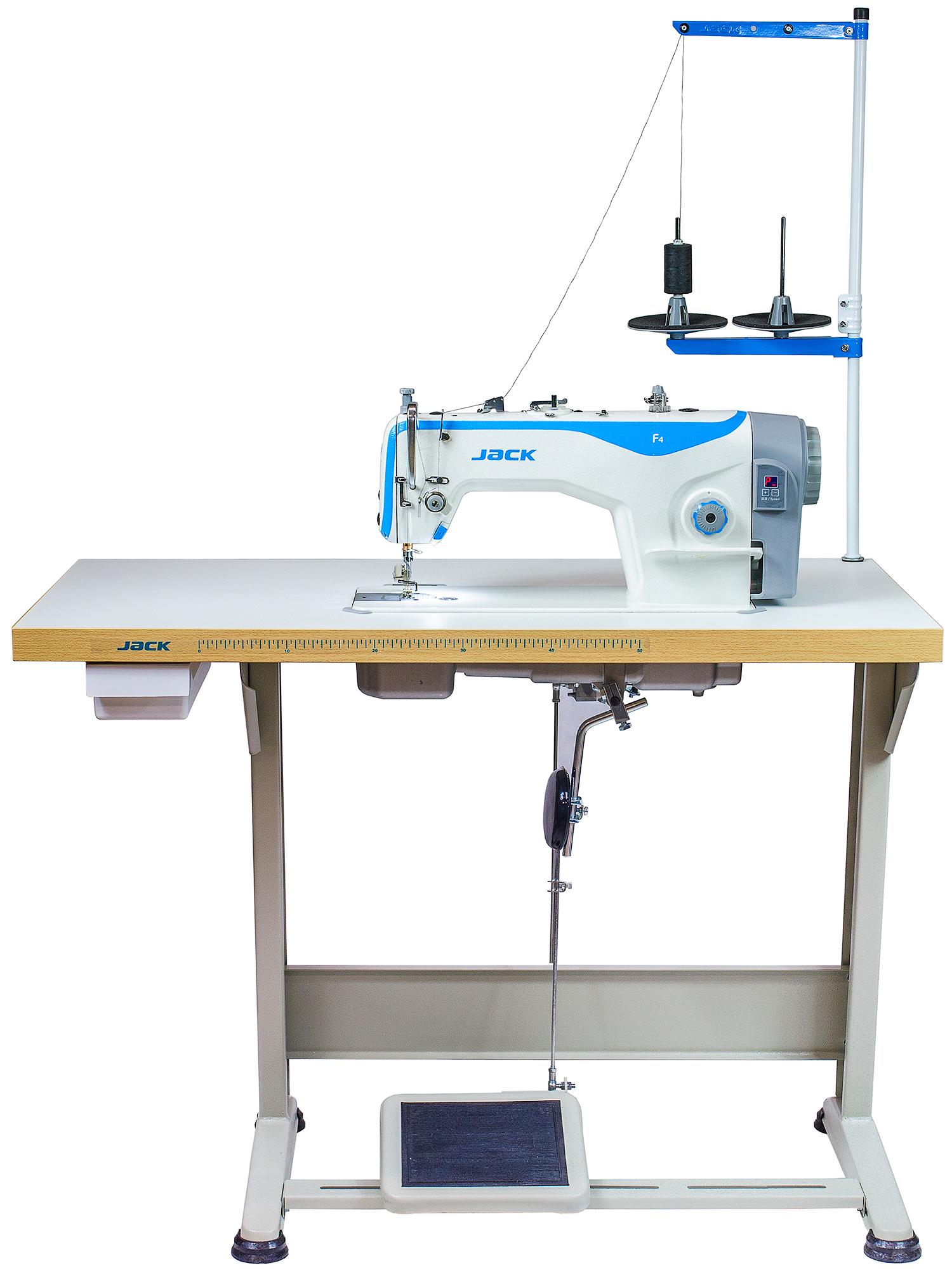 Jack F4 1-jehlový šicí stroj se spodním ponorným podáváním