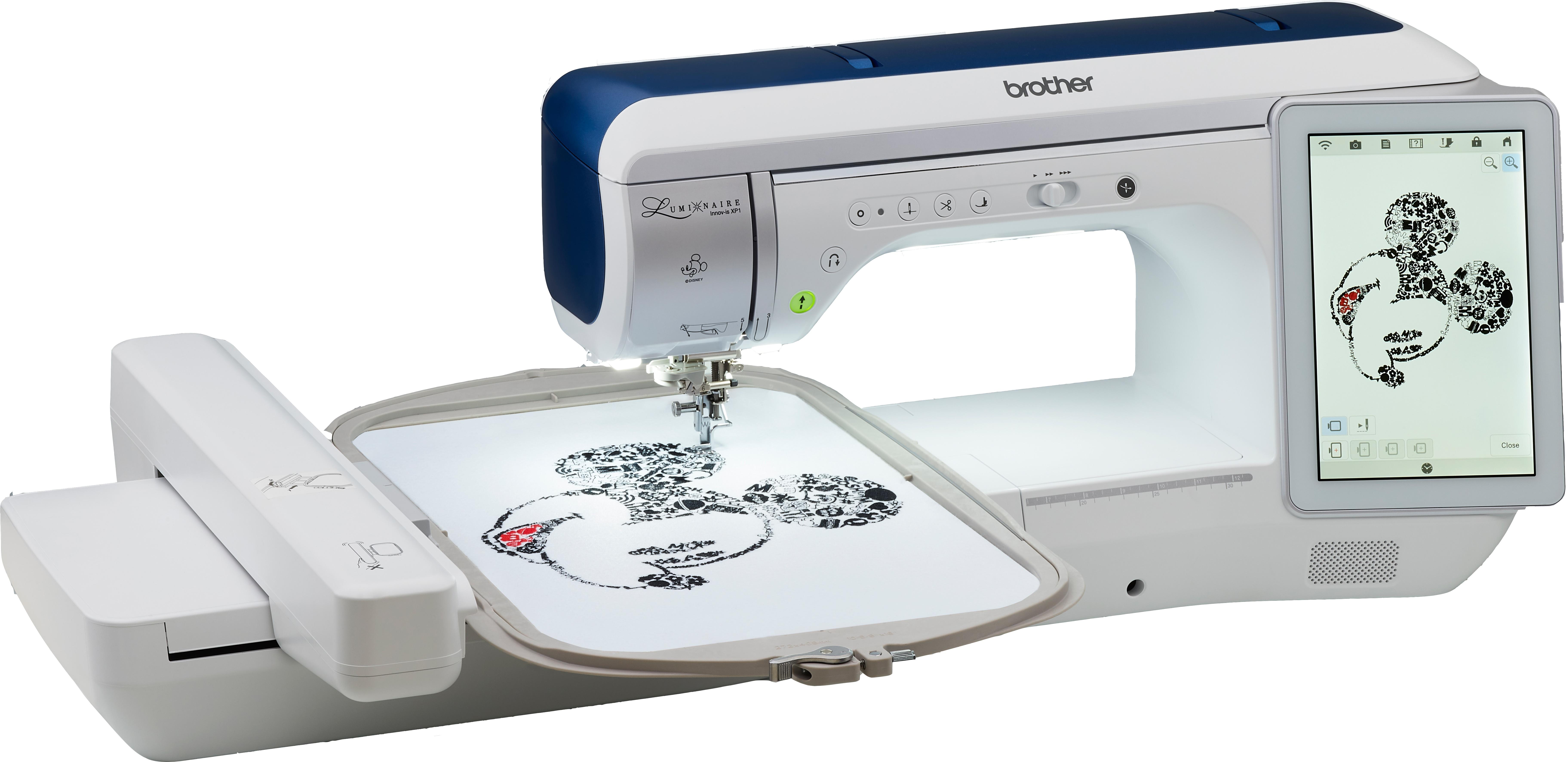 šicí a vyšívací stroj Brother Luminaire XP1