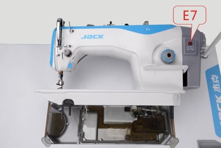 Jack F4 1-jehlový šicí stroj se spodním ponorným podáváním-1