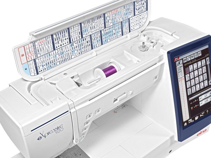 šicí a vyšívací stroj Elna 920 eX + vyšívací software Digitizer Ex Jr. ZDARMA-1