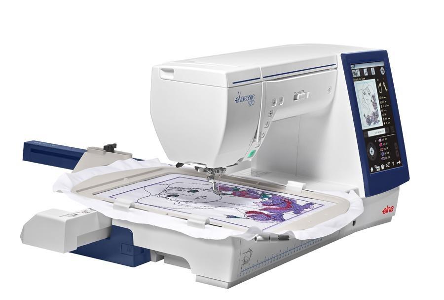 šicí a vyšívací stroj Elna 920 eX + vyšívací software Digitizer Ex Jr. ZDARMA-3