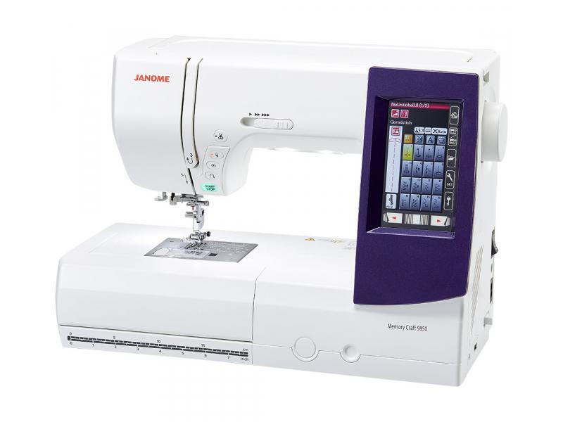šicí a vyšívací stroj Janome MC 9850-1
