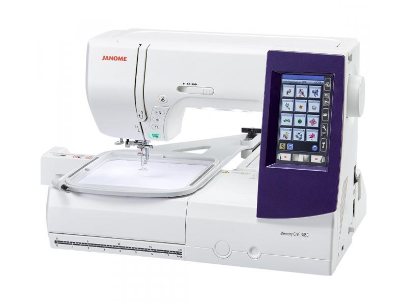 šicí a vyšívací stroj Janome MC 9850-2