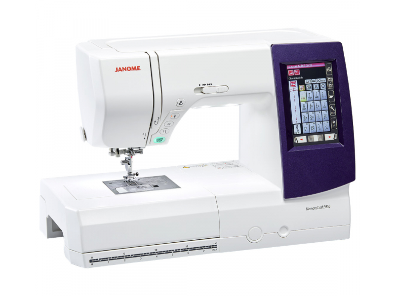 šicí a vyšívací stroj Janome MC 9850-3