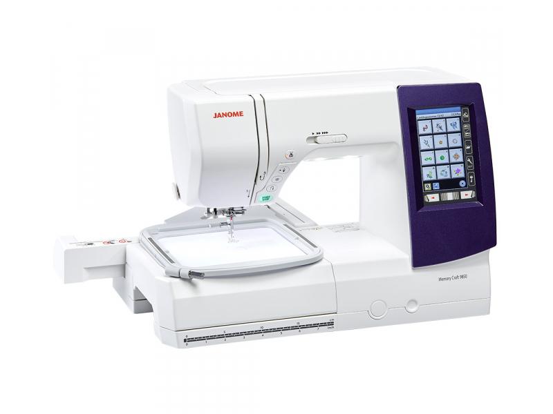 šicí a vyšívací stroj Janome MC 9850-4