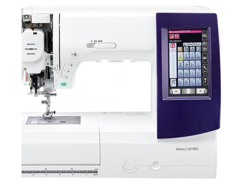 šicí a vyšívací stroj Janome MC 9850-6