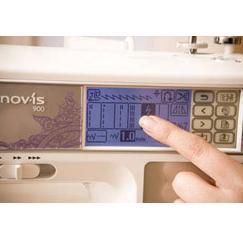 šicí a vyšívací stroj Brother NV 955 + software PeDesign Plus ZDARMA-4