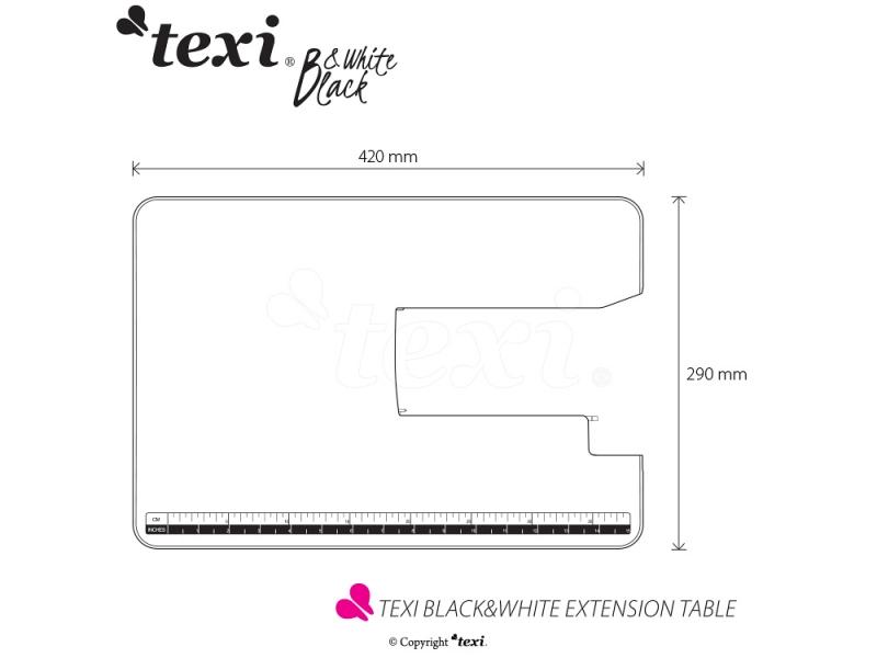 přídavný quiltovací stolek pro TEXI BLACK&WHITE-2