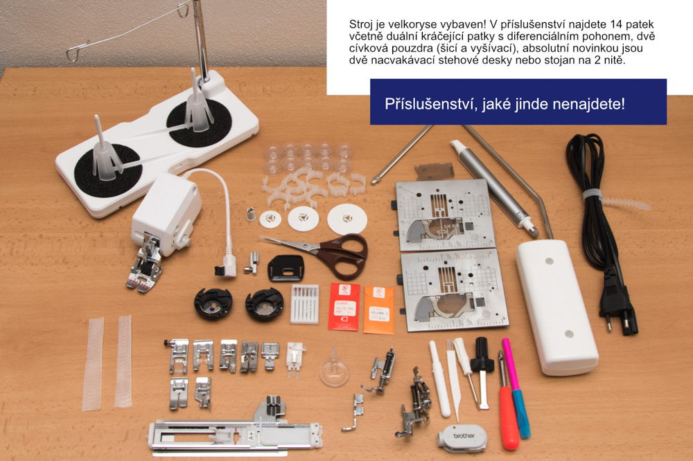 šicí a vyšívací stroj Brother Luminaire XP1-4