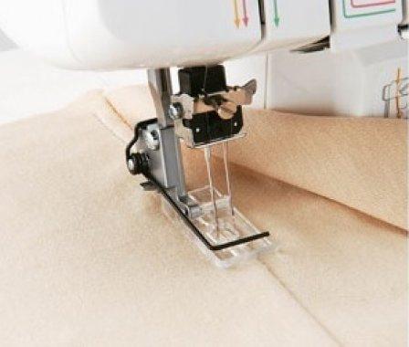 dvojice průhledných patek pro ozdobné šití pro Brother M2340