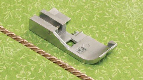 Patka pro všívání dutinek, lampasů 5mm B5002-05A-C