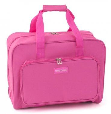 taška na šicí stroje 20x47x34cm PINK