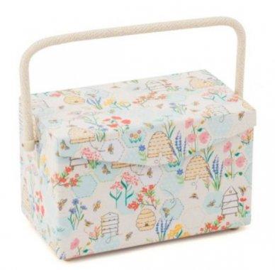 košík na šicí potřeby Sewing Bee 29x18x16,5cm