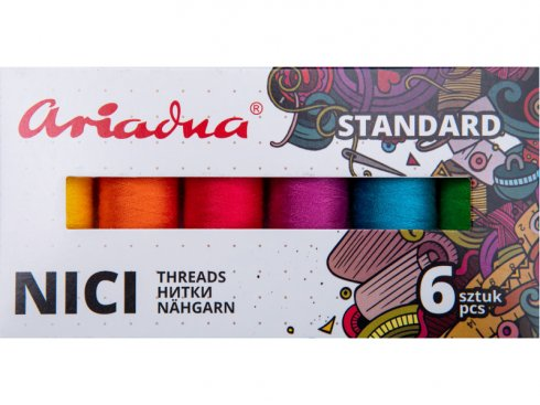 Sestava nití Standard Summer Talia 120/200m - 6 barev