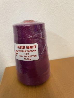 niť pro pytlovací stroje 12/4 200g purpurová