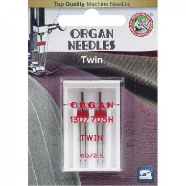 dvojjehly Organ 130/705H-80/2,5mm 2ks