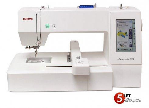 vyšívací stroj Janome MC400E + dárek