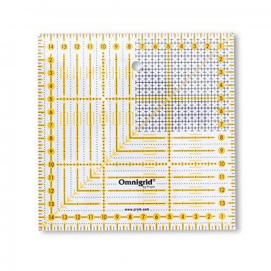 Pravítko pro patchwork Omnigrid 15x15cm