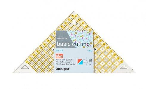 Pravítko pro patchwork Omnigrid-triangl