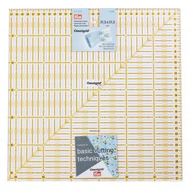 Pravítko pro patchwork Omnigrid 31,5x31,5cm