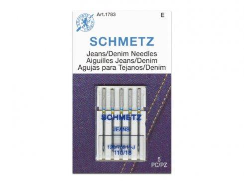 jehla Schmetz 705H/110-5ks Jeans