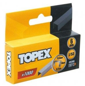 spony typ J 11,3/6mm 1000 ks Topex