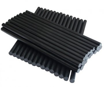 tavná tyčka černá 11,2x250mm 12ks
