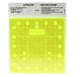 patchworkové pravítko 6,5x12 palců fluorescenční
