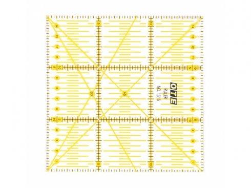 patchworkové pravítko OTE 15x15cm Olfa