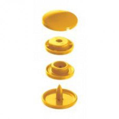 plastové patentky PRYM žluté 30ks