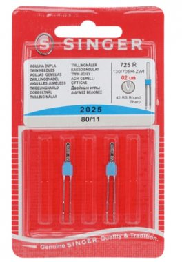 dvojjehla Singer 2025/80 3mm 2ks