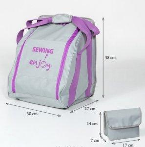 Kvalitní taška + malá taštička pro overlocky Enjoy pro většinu značek overlocků