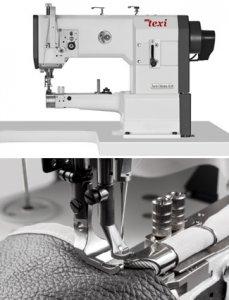 Šicí stroj pro kožedělnou a čalounickou výrobu, úzké ramínko
