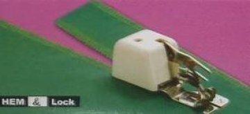 patka overlocková s ořezem látky