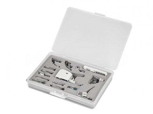 sestava 13 patek pro domácí stroje + 2 držáky