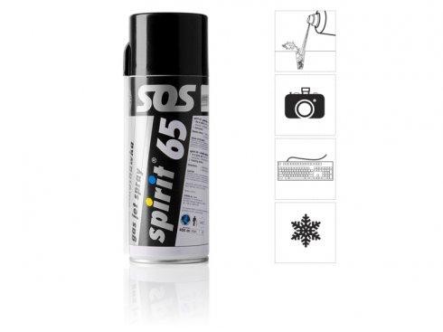 Stlačený vzduch ve spreji - spray 400 ml
