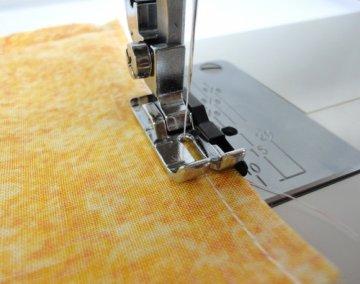 patka na quilt a šití patchworku