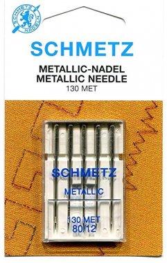 jehly vyšívací na kovové nitě 130/705H-80 Schmetz