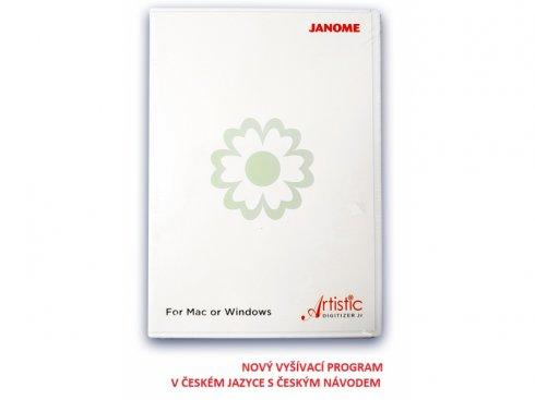 Vyšívací program Janome Artistic Digitizer Junior