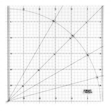 patchworkové pravítko 30x30cm OLFA
