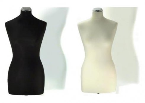 aranžérská panna Elite 40-42 bílá/černá